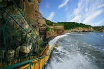 大连金石滩八大景点+出海钓鱼喂海鸥+快艇登岛地质公园一日游 每人一份海参捞饭