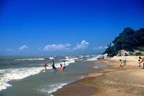 密山兴凯湖双卧休闲三日游♥ 沙滩排球♥沙滩浴♥湖水浴