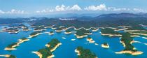 100%纯玩>千岛湖中心湖(梅峰岛+月光岛景区)一日游,门票船票全含主城区接