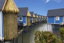 唐山人间天堂马尔代夫月坨岛水上木屋住1晚含早餐+双人往返船票浪漫之约