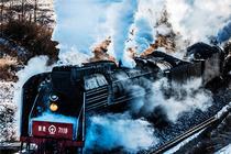 大巴:蒸汽火车节、达里湖冬捕、达尔罕骆驼节、玩雪泡温泉(仅此一期)