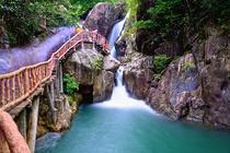 广州出发 增城白水寨拼车一日游 含门票 挑战9999级天梯 回归自然轻松周末