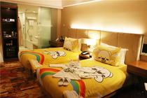 天津滨海亲子游-儿童房布置1晚天津滨海假日酒店+早餐+极地海洋世界/方特