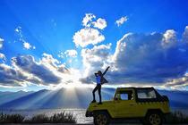 大理吉普敞篷车环洱海旅拍纯玩一日游(五彩吉普车+360度环海+全程单反跟拍)