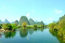 广西桂林+北海+涠洲岛双飞7日全景游☛大船游梦幻漓江+桂林米粉+5A景点