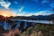 夸年狂欢✔无套路之旅 0购物无自费•市区接送 张家界大峡谷+云天渡玻璃桥