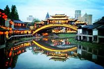 北京出发纯玩0购物A线<杭州宋城-水乡乌镇-苏州狮子林-上海都市5日游>