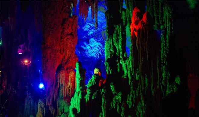 青岛出发到沂水天上王城 山东地下大峡谷 萤火虫水洞2