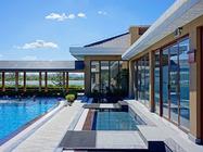 大连温泉季入住瓦房店铭湖国际温泉滑雪度假村酒店,享受铭湖国际温泉,过一个暖暖的冬天