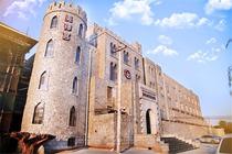 私享城堡汤泉 登蟒山踏青1晚北京美神宫温泉城堡酒店+早餐+独立温泉+蟒山