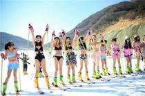 江西人自家的滑雪场 南昌宜春铜鼓七星岭滑雪一日游