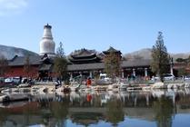 北京出发五台山祈福巴士2日游参拜文殊菩萨看寺院银装素裹