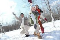 <拳头产品>日照沁园春滑雪一日游含往返交通+滑雪双板雪具一套+旅游意外险