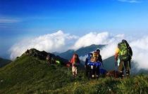 北京第一高峰-东灵山(2303米)聚灵峡-百草甸--五指峰-登山摄影活动