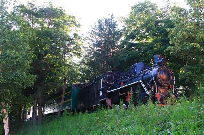 【济州森林小火车】(约40分钟)复古怀旧的英式森林小火车游览汉拏山
