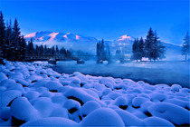 冬季喀纳斯/和煦阳光/冷酷仙境丰田霸道+4人团+世界魔鬼城+喀纳斯+乔木7日