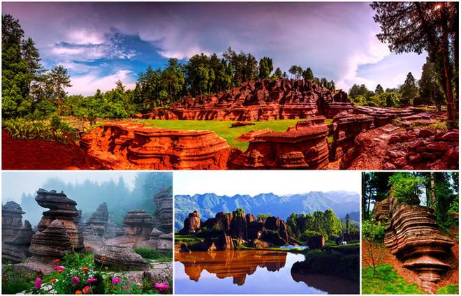 泸州石林风景区