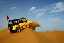 100%纯玩>银川出发—沙坡头+腾格里大漠一日游,含沙漠大扶梯上行