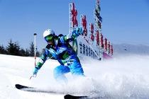 兰州旅游 松鸣岩滑雪场一日游 不限时滑雪+雪具+寄存柜+往返车位