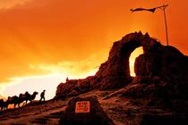 宁夏旅游银川出发西夏陵西部影视城贺兰山岩画一日游一人起天天发