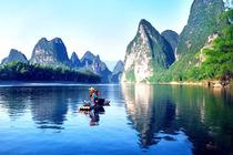 桂林漓江+银子岩+北海银滩+涠洲岛双飞7日游全程纯玩0购物!