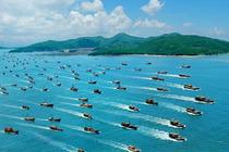 广东沙滩旅游|阳江+闸坡+海陵岛+大角湾+十里银滩两天游|住海天主题或同级