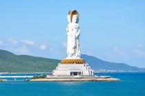 中国国际旅行社、海口到三亚3日*品牌海岛游*、温泉特色酒店、南山寺、天涯海角