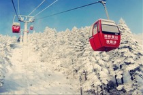 终极大促 西岭雪山滑雪纯玩一日游 含往返交通+门票+往返交通索道+导服+保险