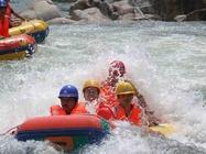 庞泉沟峡谷漂流一日游_华北第一漂全长12公里