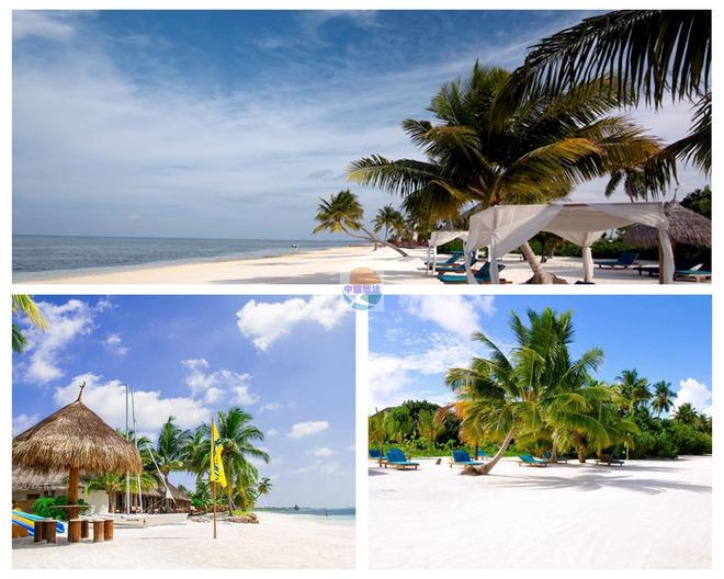 马尔代夫幸福岛7天5晚 独幢沙滩别墅 免费wifi 中文