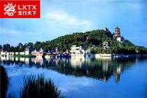 赠颐和园茶歇北京八达岭长城+颐和园+北大清华纯玩一日游,乘皇家慈溪水道