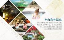 自驾郴州莽山森林温泉旅游度假酒店(住豪华双人房、双人美味早餐、双人无限次温泉
