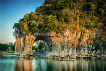 广西板路桂林、大漓江、阳朔、古东瀑布、德天瀑布 通灵大峡谷双卧9日游