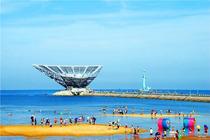 <清凉一夏>营口鲅鱼圈四日游 独立成团 特色海鲜餐 山海广场+白沙湾海滨浴场