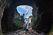 旅游集散中心直发-良心价、放心游 重庆武隆仙女山天生三桥天坑地缝品质一日游