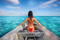 星期八、三亚西岛一日游包含门票+船票+往返接送、纯玩无购物、海南最古老海岛