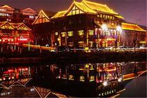 天津到青州江南温泉、井塘古村,红高粱拍摄地、青州古城庙会,看夜景,无自费