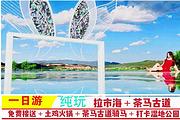 悦享拉市海+茶马古道纯玩一日游随心小团懒人游+网红玻璃球+打卡湿地公园