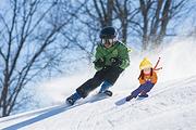 九鼎山太子岭全天不限时滑雪!含滑雪+往返车位+门票+保险,100%真纯玩1日