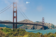 1日游览浪漫文化之都—美国旧金山