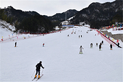 合肥出发天柱山滑雪胜地一日游