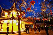 华东三城连游丨3晚桔子酒店,最经典☞狮子林-寒山寺 东方明珠-城隍庙 迪士尼