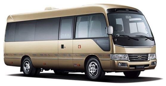 【17座 • 丰田考斯特】天津团体旅游考察包车4006161881转00260