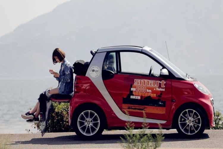 双廊炫酷奔驰smart 1日租车服务(不同套餐,根据您的需求灵活选择)