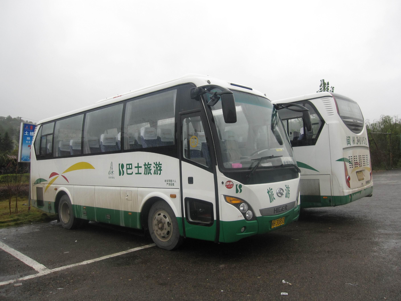 武夷山33座旅游巴士包车