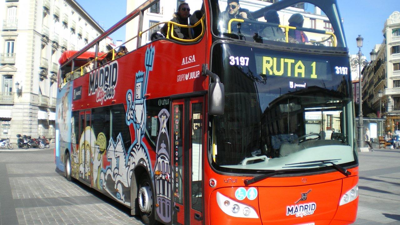 马德里随上随下观光巴士 - 2天