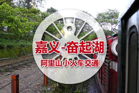 【代订】阿里山小火车交通:奋起湖-嘉义 儿童票