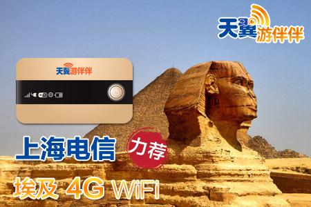 埃及WiFi租赁移动无线随身4G上网无限流量