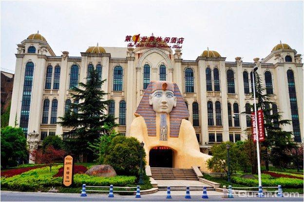 2天1晚杭州第一世界休闲酒店+杭州极地海洋世界/杭州烂苹果乐园