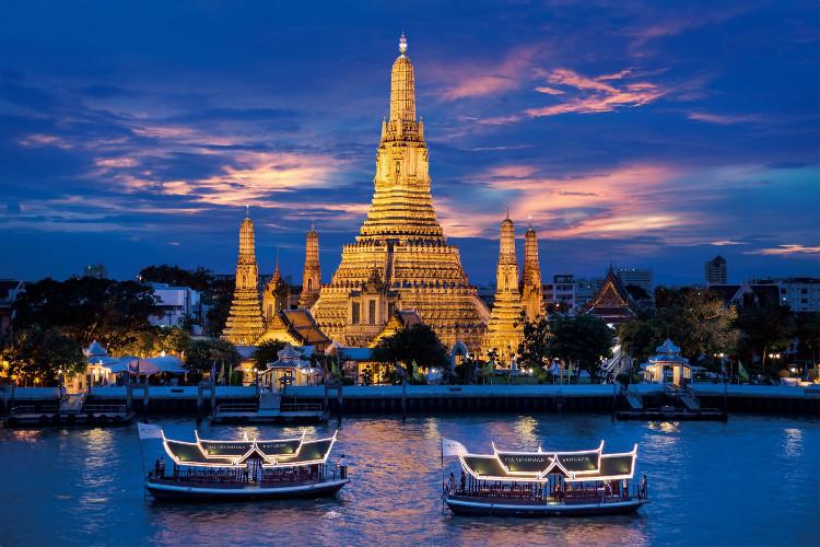 泰国清迈拜县曼谷9日定制(丛林飞跃+沙滩漫步+华欣海滩+拷龙穴+夜市美食)